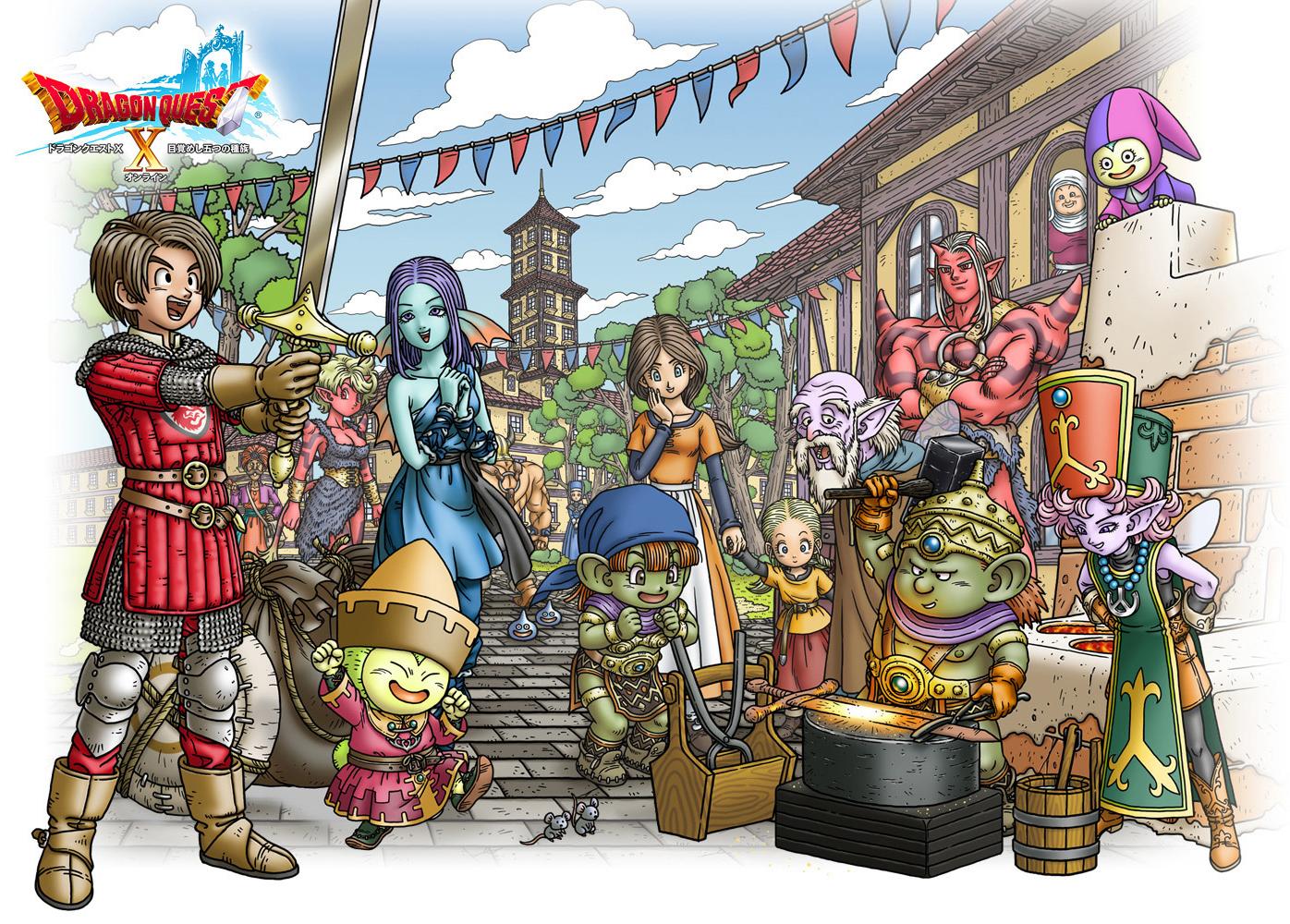 Elegant Dragon Quest Auch Bald Für Die PS4? Konsolenkost News