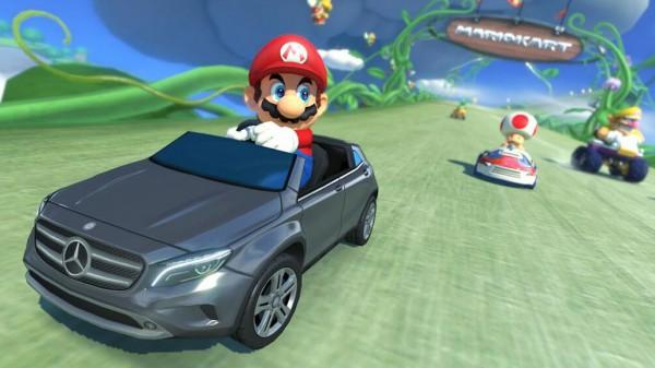Mario Kart 8-Mercedes DLC