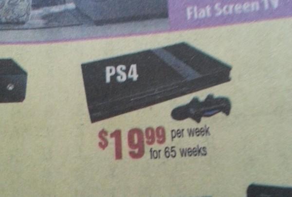 Ps4-Werbung