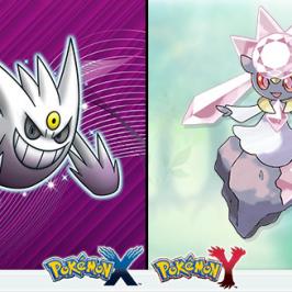 Pokémon – Shiny Gengar und Diancie