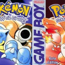 Lust auf eine schnelle Partie Pokémon Rot/Blau?