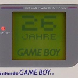 Der GameBoy wird 26 Jahre alt!