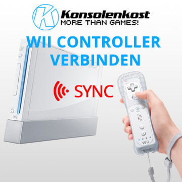 How To: Wii Controller synchronisieren