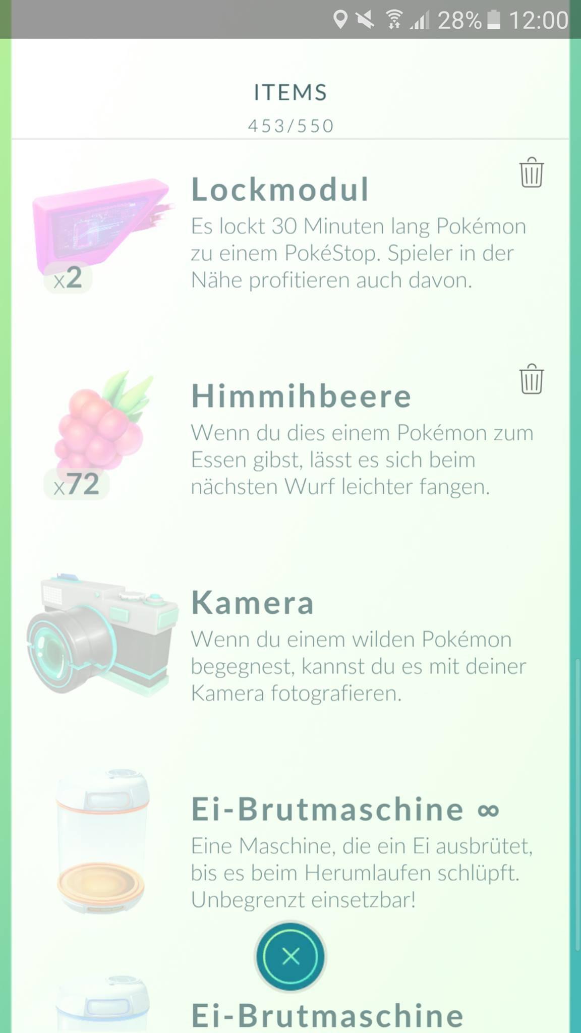 Pokémon Go Items 2