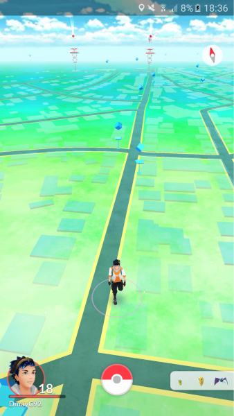 Pokémon Go Karte
