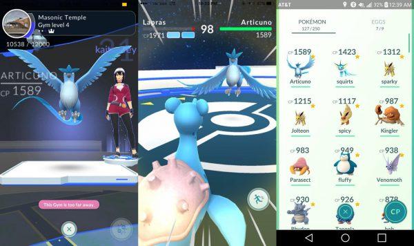 Pokémon Go Arktos Bilder