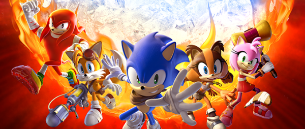 Sonic Boom Feuer und Eis