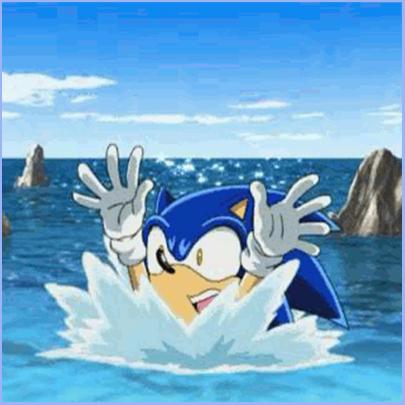 sonic-kann-nicht-schwimmen