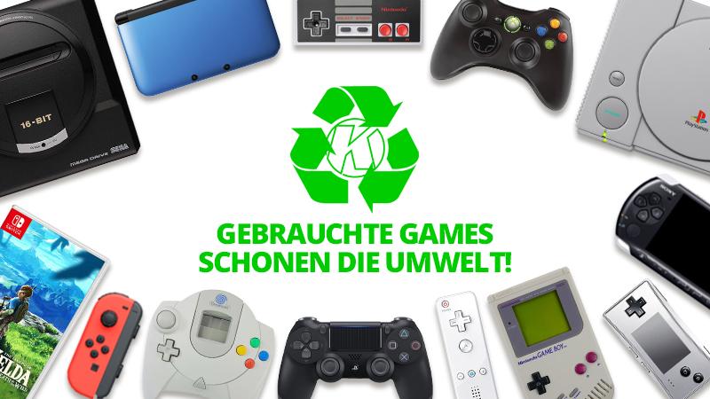 Spiele Games verkaufen Umwelt