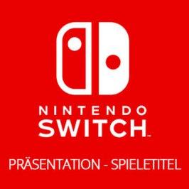 Nintendo Switch Präsentation – Spieletitel!