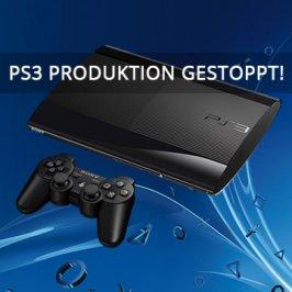 PS3 Produktion in Japan gestoppt!