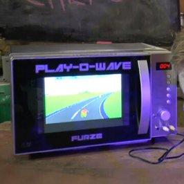 Play-O-Wave – Schon mal an der Mikrowelle gezockt?