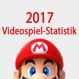 Videospiel-Statistik 2017 – Das spielt Deutschland!