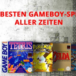 Die 10 besten GameBoy Spiele aller Zeiten