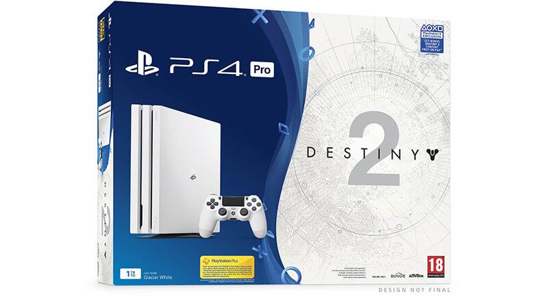 PS4 Pro Destiny 2 Bundle