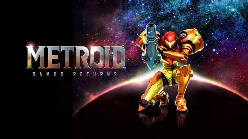 Metroid Samus Returns Switch