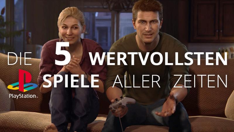 Die 5 wertvollsten PS1 Spiele aller Zeiten