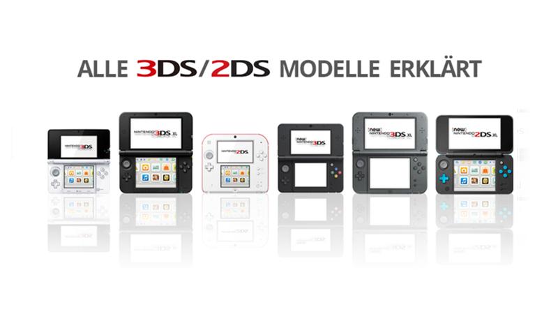 3ds 2ds Modelle erklärt
