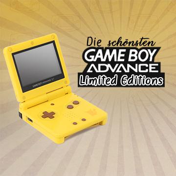 Die schönsten GameBoy Advance Limited Editions