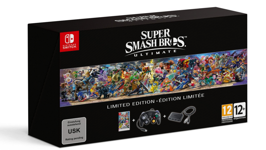 Smash Bros Ultimate Limited Edition