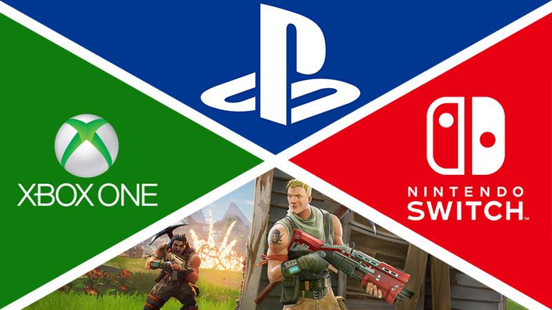 PS4 Crossplay Fortnite