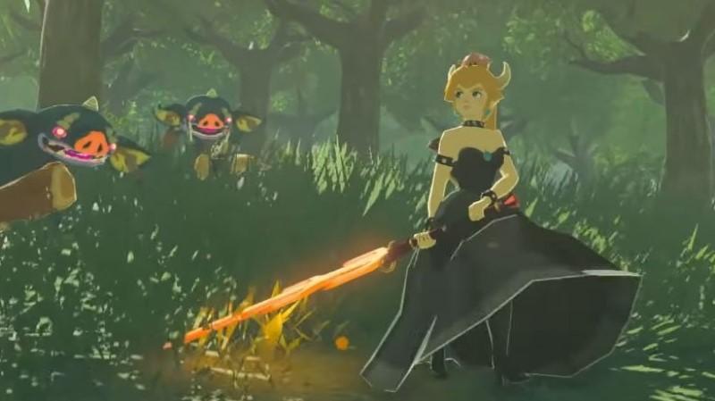 Bowsette Zelda