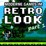 moderne games im retro look