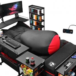 Bye bye Gaming-Stuhl! Hello Gaming-Bett!