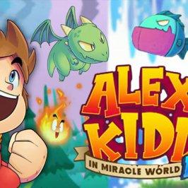 Alex Kidd: Remake des Sega-Klassikers
