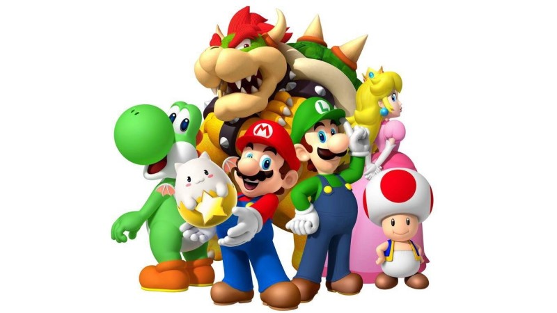Super Mario Collection Remaster fuer Switch