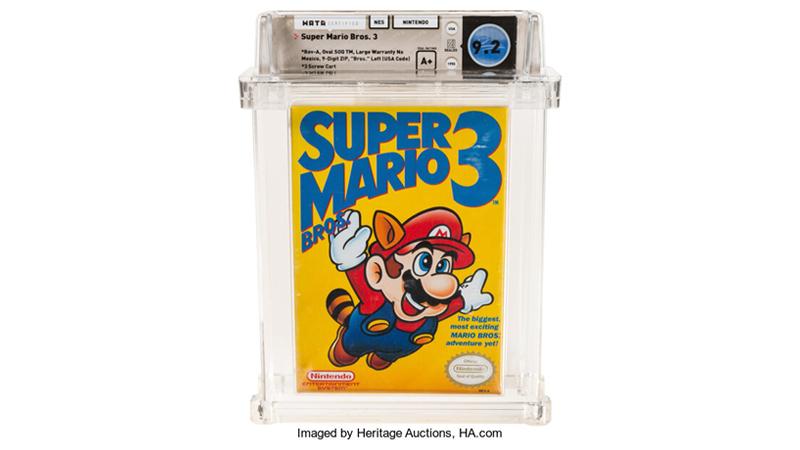 Teuerste Videospiel Super Mario Bros 3 NES