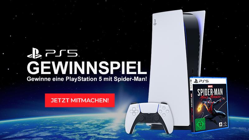 Jetzt beim PS5 Gewinnspiel mitmachen und eine PS5 gewinnen!