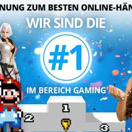 Wir sind die Nr. 1 im Bereich Gaming