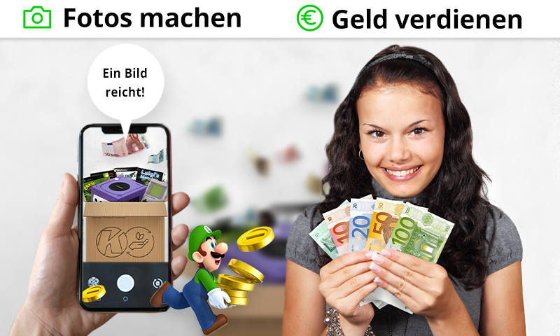 Games und Konsolen verkaufen