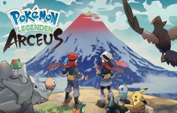 Pokémon-Legenden: Arceus – Neues Gameplay