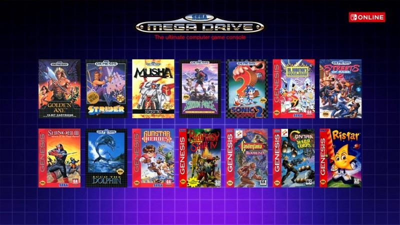 Switch Online Mega Drive